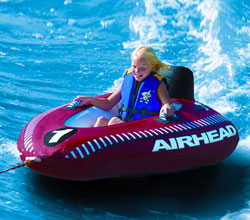 Water Tubes and Towables airhead mach i towable